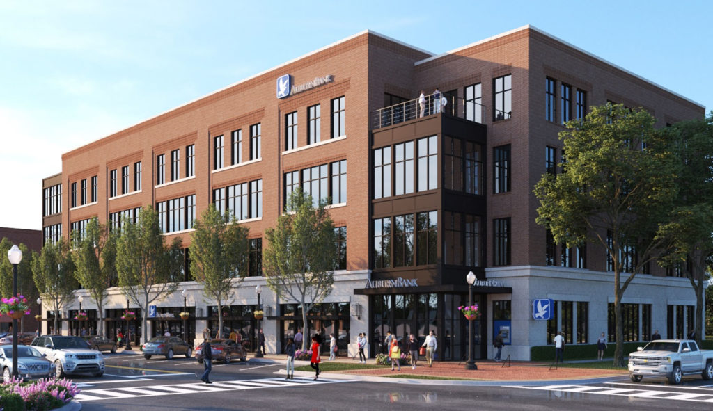 Taylor & Mathis to Redevelop AuburnBank Site in Downtown Auburn, AL
