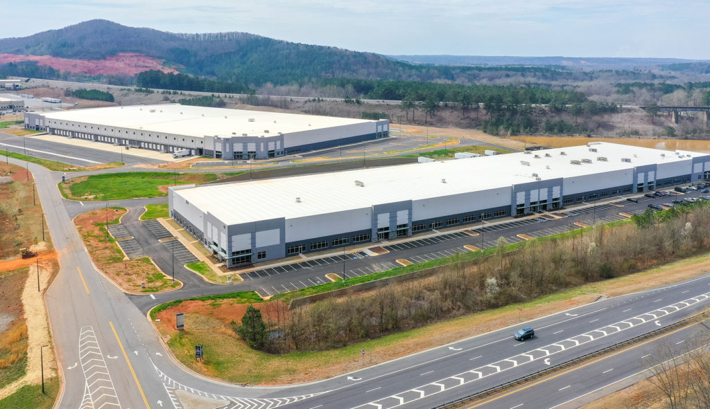 CONSTRUCTION COMPLETE AT RIVERPOINT INDUSTRIAL PARK
